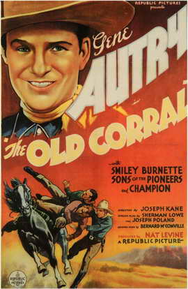 The Old Corral - 11 x 17 Movie Poster - Style A