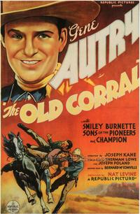 The Old Corral - 43 x 62 Movie Poster - Bus Shelter Style A
