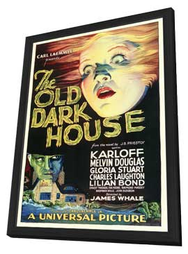 The Old Dark House - 11 x 17 Movie Poster - Style A - in Deluxe Wood Frame