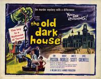 The Old Dark House - 11 x 14 Movie Poster - Style B