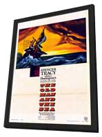 The Old Man and the Sea - 11 x 17 Movie Poster - Style A - in Deluxe Wood Frame