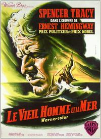 The Old Man and the Sea - 11 x 17 Movie Poster - French Style A