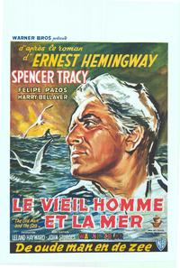 The Old Man and the Sea - 11 x 17 Movie Poster - Belgian Style A