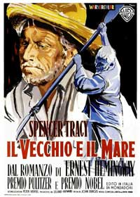 The Old Man and the Sea - 11 x 17 Movie Poster - Italian Style A