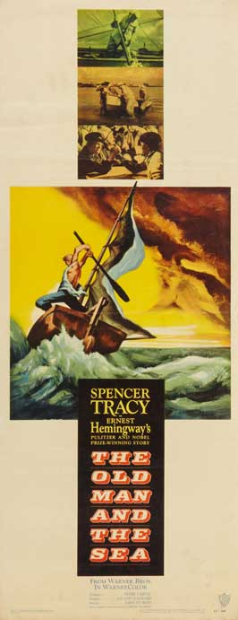The Old Man and the Sea - 14 x 36 Movie Poster - Insert Style A