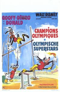 The Olympic Champ - 11 x 17 Movie Poster - Belgian Style A