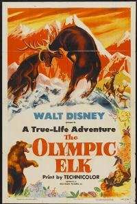 The Olympic Elk - 27 x 40 Movie Poster - Style A