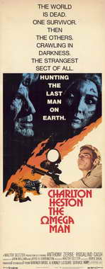 Omega Man - 14 x 36 Movie Poster - Insert Style A