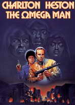 Omega Man - 27 x 40 Movie Poster - Style C