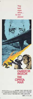 Omega Man - 14 x 36 Movie Poster - Insert Style C