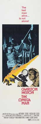 Omega Man - 14 x 36 Movie Poster - Insert Style E