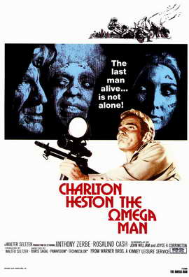 Omega Man - 11 x 17 Movie Poster - Style A