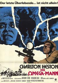 Omega Man - 11 x 17 Movie Poster - German Style A