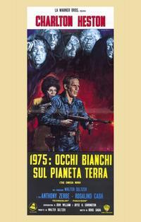 Omega Man - 11 x 17 Movie Poster - Italian Style A