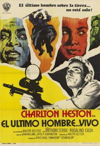 Omega Man - 11 x 17 Poster - Foreign - Style B