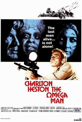 Omega Man - 27 x 40 Movie Poster - Style A