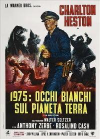 Omega Man - 11 x 17 Movie Poster - Italian Style B