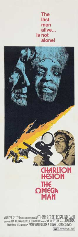 Omega Man - 14 x 36 Movie Poster - Insert Style B