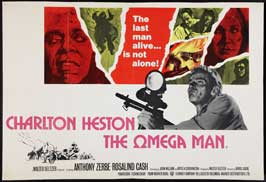 Omega Man - 30 x 40 Movie Poster UK - Style A