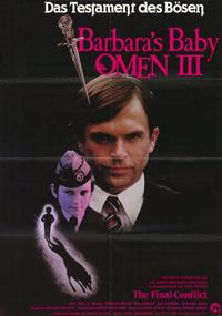 Omen 3: The Final Conflict - 11 x 17 Movie Poster - German Style A