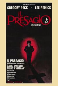The Omen - 27 x 40 Movie Poster - Italian Style A