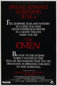 The Omen - 27 x 40 Movie Poster - Style E