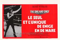 The One and Only - 11 x 17 Movie Poster - Belgian Style A