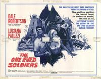 The One-Eyed Soldiers - 22 x 28 Movie Poster - Half Sheet Style A