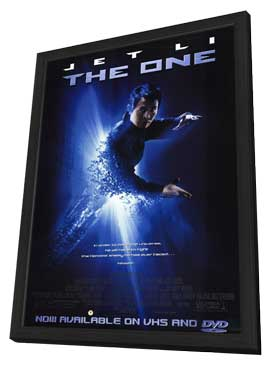 The One - 11 x 17 Movie Poster - Style A - in Deluxe Wood Frame