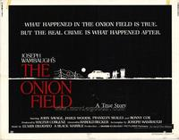 The Onion Field - 22 x 28 Movie Poster - Half Sheet Style A