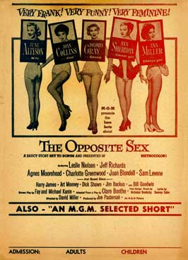 The Opposite Sex - 11 x 17 Movie Poster - Style A