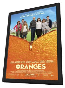 The Oranges - 27 x 40 Movie Poster - Style A - in Deluxe Wood Frame
