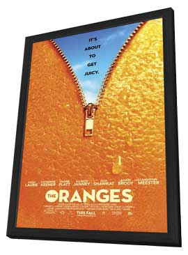 The Oranges - 11 x 17 Movie Poster - Style B - in Deluxe Wood Frame