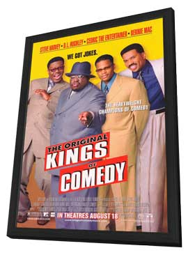The Original Kings of Comedy - 27 x 40 Movie Poster - Style A - in Deluxe Wood Frame
