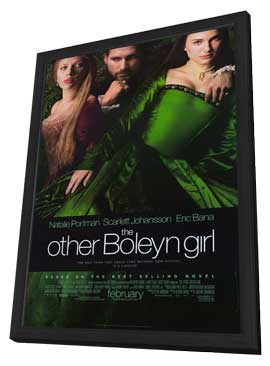 The Other Boleyn Girl - 27 x 40 Movie Poster - Style A - in Deluxe Wood Frame