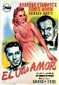 The Other Love - 27 x 40 Movie Poster - Spanish Style A