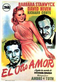 The Other Love - 11 x 17 Movie Poster - Spanish Style A