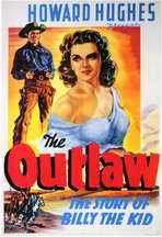 The Outlaw - 11 x 17 Movie Poster - Style D