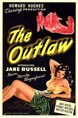 The Outlaw - 11 x 17 Movie Poster - Style A