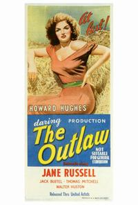 The Outlaw - 14 x 36 Movie Poster - Insert Style A