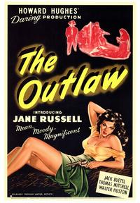The Outlaw - 43 x 62 Movie Poster - Bus Shelter Style A