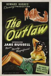 The Outlaw - 11 x 17 Movie Poster - Style I
