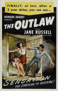The Outlaw - 27 x 40 Movie Poster - Style B