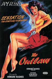 The Outlaw - 43 x 62 Movie Poster - Bus Shelter Style B