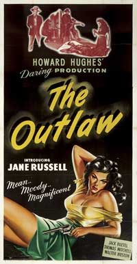 The Outlaw - 11 x 17 Movie Poster - Style K