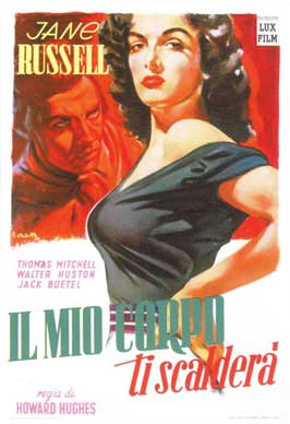 The Outlaw - 11 x 17 Movie Poster - Italian Style A