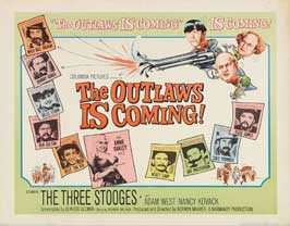The Outlaws Is Coming! - 22 x 28 Movie Poster - Half Sheet Style A