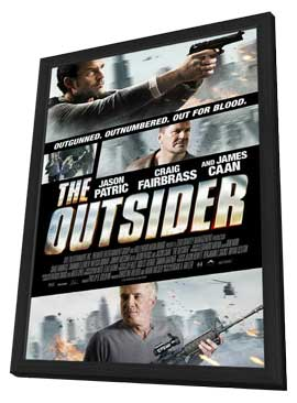The Outsider - 11 x 17 Movie Poster - Style A - in Deluxe Wood Frame