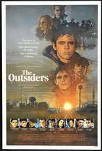 The Outsiders - 27 x 40 Movie Poster - Style D