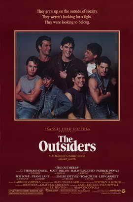 The Outsiders - 11 x 17 Movie Poster - Style A